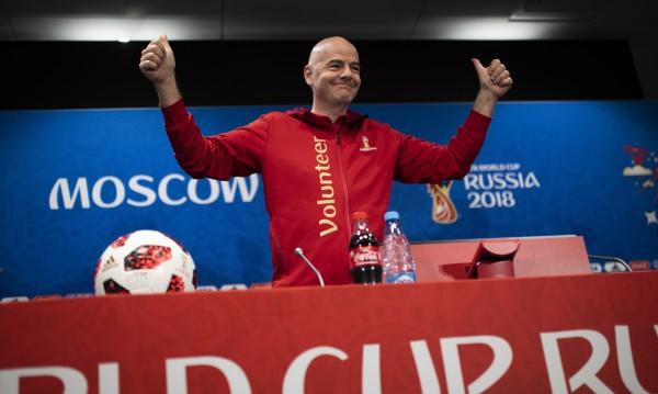 Няма назад! Шефът на ФИФА доволен от VAR