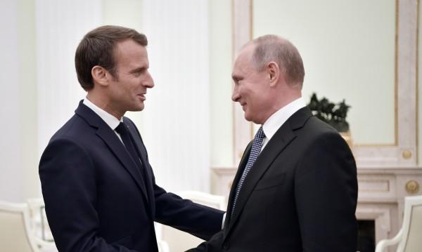Путин и Макрон с надежда да преодолеят различията си