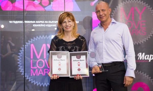 """Майонеза """"Краси"""" е №1 в категория """"Майонези, лютеници и сосове"""" на класацията """"Любими марки"""""""
