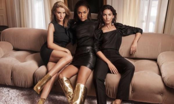 Моделско шик трио: Роузи, Джоан и Лили