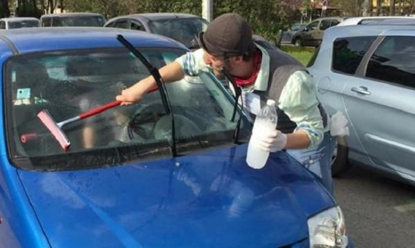 Глоба за шофьора след: Бате, бате... да ти измия стъклото, а?