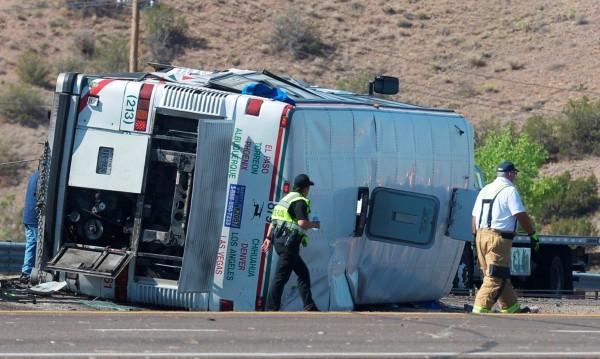 Най-малко 13 човека загинаха при катастрофа в Мексико