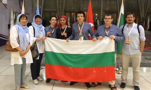Голям успех: 4 медала от Олимпиадата по биология
