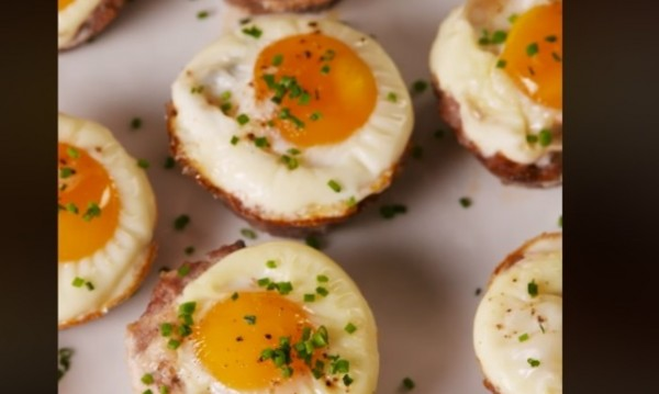 Рецептата Dnes: Гнезда с кайма и яйце