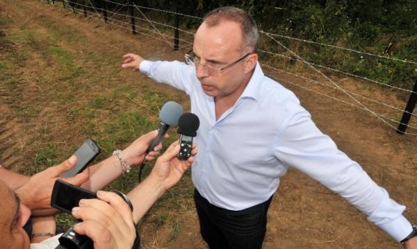 По румънската граница: 11 от 133 км от оградата – готови