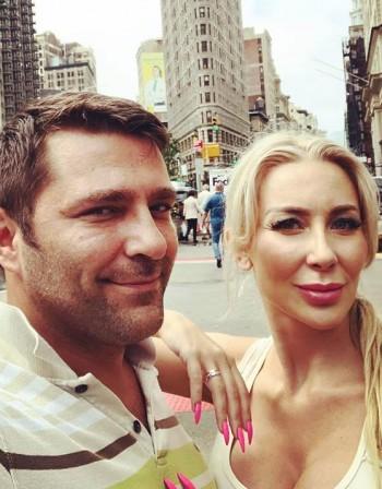 Антония Петрова се радва на любовта в Ню Йорк