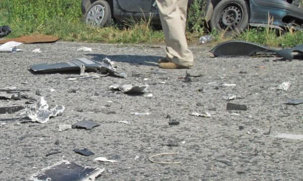 """ТИР и кола се сблъскаха на """"Хемус"""", има ранени"""