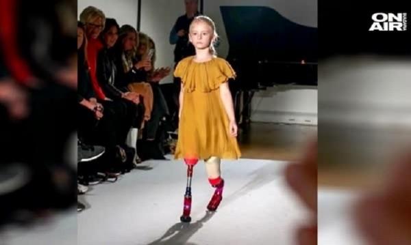 С ампутирани крака до... върховете на модния подиум