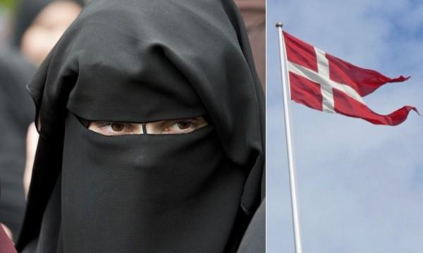 Бурка в Дания? $1600 глоба или 6 месеца затвор