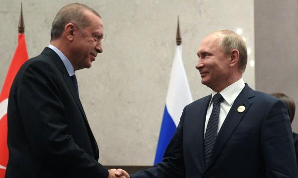 Путин и Ердоган заедно на Балканите! Гърците вярват