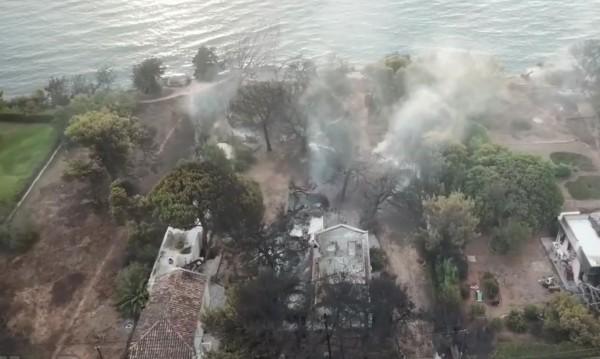 Поредна жертва: Почина жена, пострадала при пожарите в Гърция