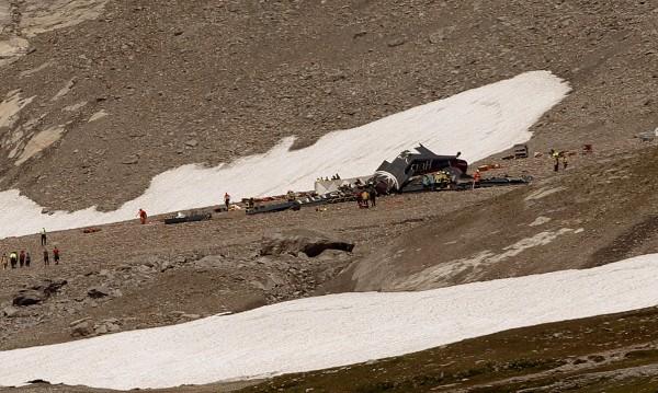 24 загинаха в Алпите за ден при авиокатастрофи