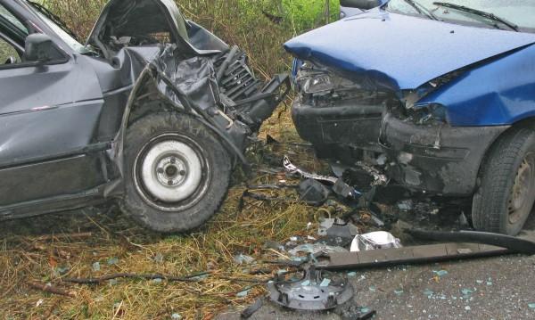 Спукана гума и... меле на пътя Варна-Бургас