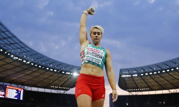 Мавродиева остана шеста на гюле в Берлин