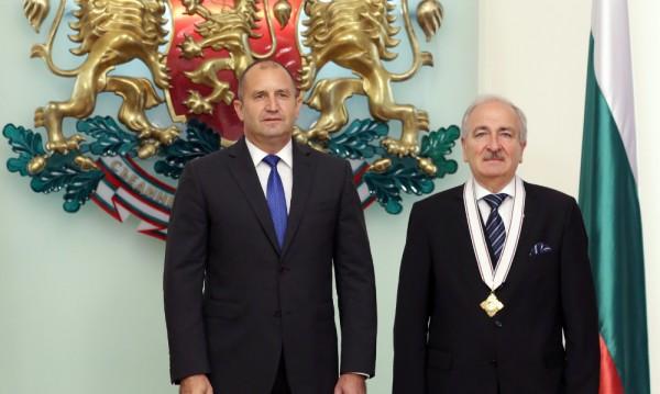 Президентът Радев награди посланика на Украйна с орден