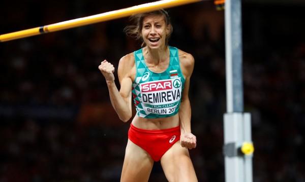 Мирела Демирева със сребро от Берлин! Преодоля двата метра