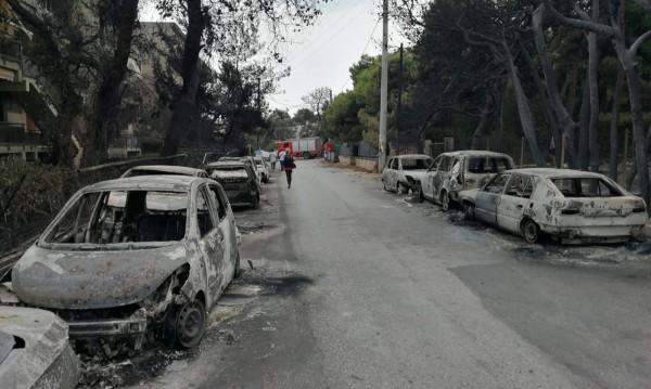 Стихията: Жертвите на пожарите в Гърция станаха 94