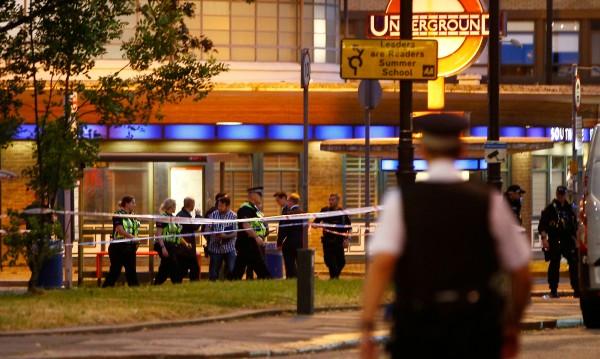 Стрелба в лондонското метро, трима ранени