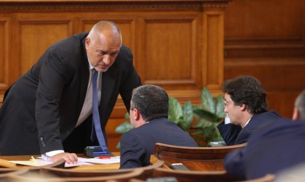 Борисов към БСП: Няма да ви угаждаме с предсрочни избори!