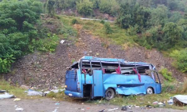 Само миг невнимание на шофьора и… 16 жертви, 21 ранени
