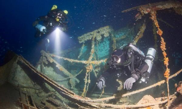 Злато за милиони – в потънал край хърватски остров кораб