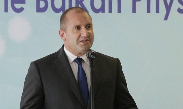 """Радев: Да обединим младите, за да не са """"осакатени"""" Балканите!"""