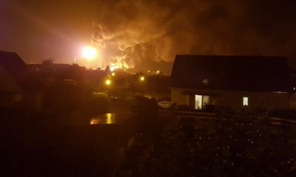 8 ранени след експлозия и пожар в рафинерия в Южна Германия