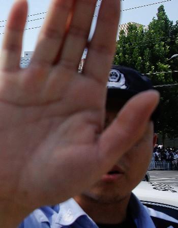 Над 40 задържани в китайски град след протест