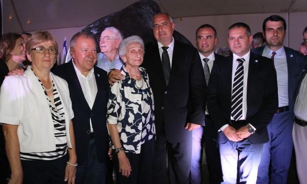 Борисов от Израел: Спасили сме много повече от 50 000 евреи