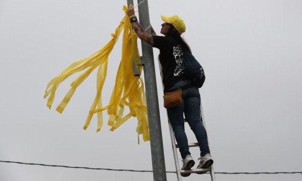 Сепаратистките жълти панделки – предстои гореща есен в Каталуния