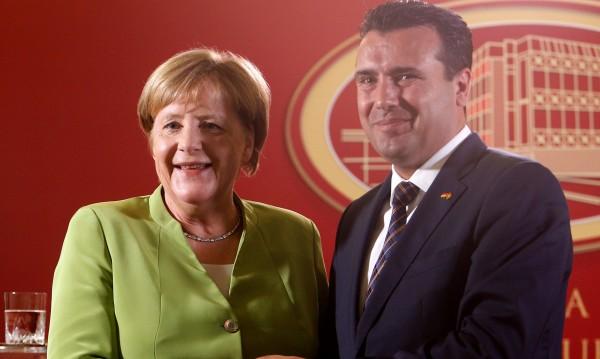 Меркел от Скопие: Благодаря на Борисов за ролята му на Балканите!