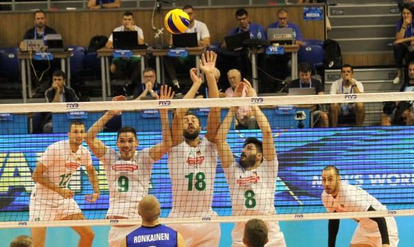 Бихме Финландия на старта на Световното по волейбол!