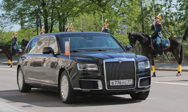 Бронирана, тежка, руска... Да караш колата на Путин! Възможно е!
