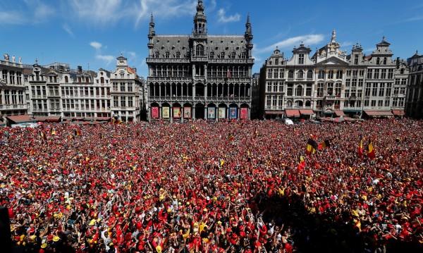 Мюсюлманка искала да окървави футболен празник в Белгия