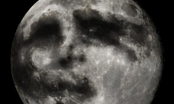 """И """"човешкото лице"""" на Луната всъщност е... намагнетизиран прах"""