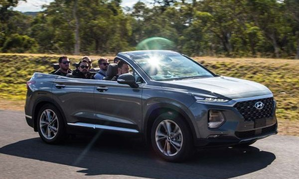 Hyundai махна покрива на Santa Fe