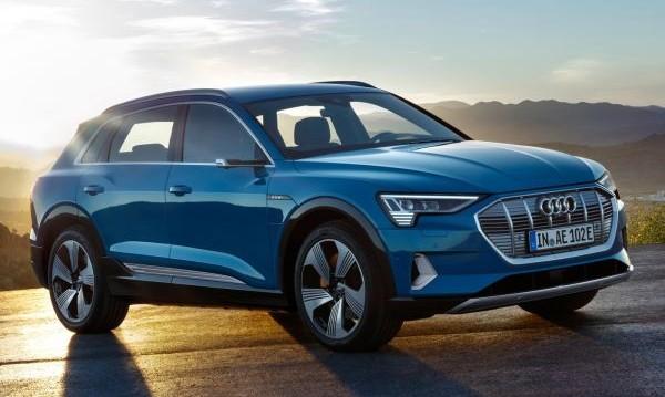 Audi показа електрическия си кросоувър