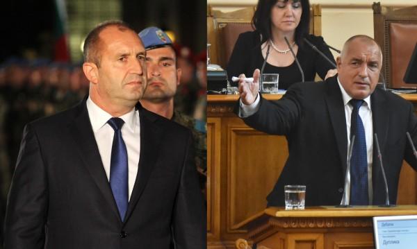 II рунд за деня, Радев към Борисов: Не става въпрос за война, а за закона!