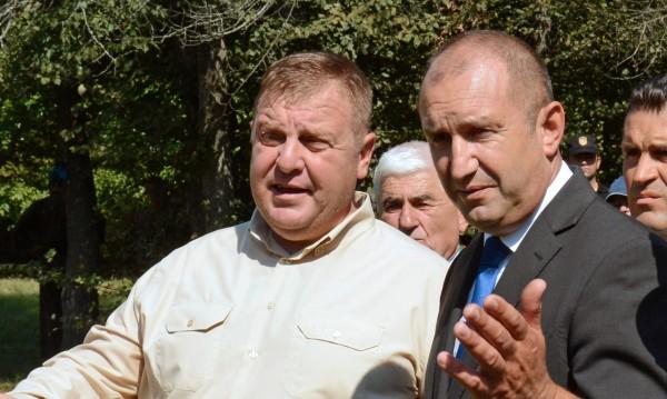 """Каракачанов: Някой е заблудил президента за указа """"Маринов"""""""