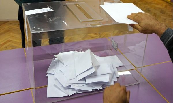 При парламентарни избори днес: 4 партии в НС, ГЕРБ с 3% пред БСП
