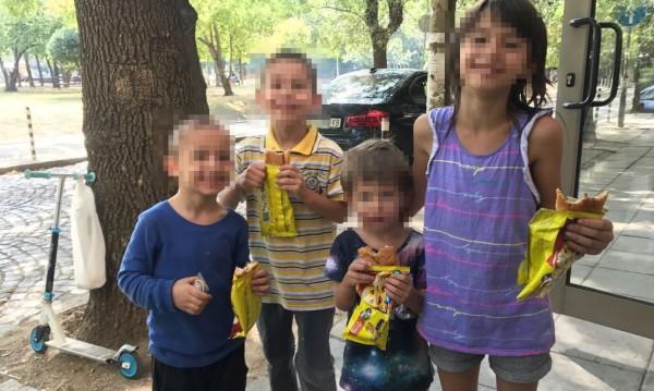 Четирите деца на Боряна: Усмихнати, със стих на уста, макар и на улицата!