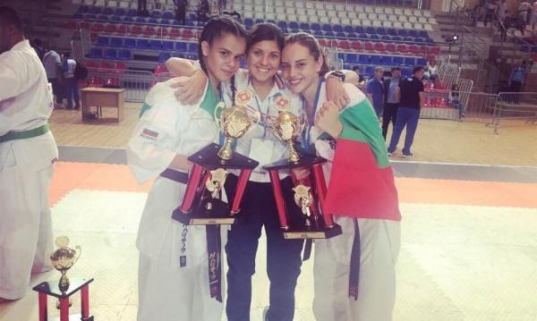Националите на БККФ спечелиха 1 шампионска титла и 11 медала от Европейското по карате киокушин