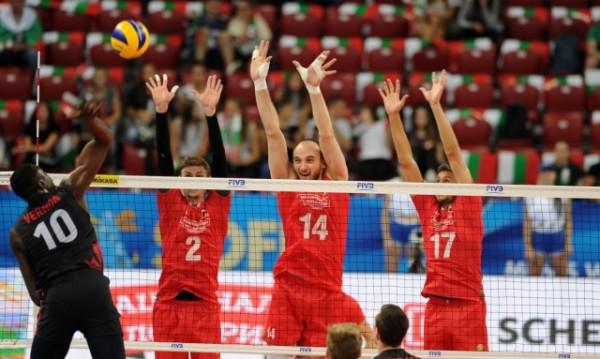 Волейболистите ни се бориха докрай, Канада ги сломи