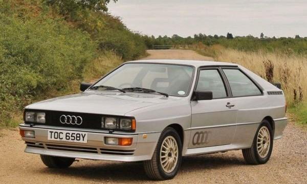 Уникално Audi Quattro си търси нов собственик на търг
