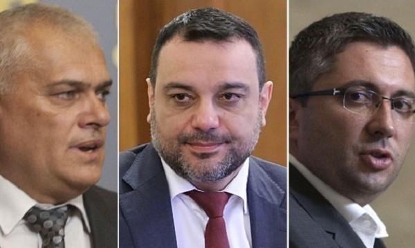 Рулетката се завъртя: Нанков, Московски и Радев отново депутати