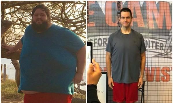В името на любимата жена - мъж се раздели със 136 килограма!
