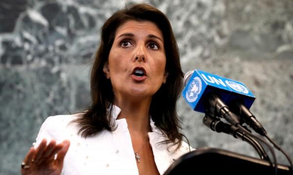 US посланикът в ООН Ники Хейли подала оставка пред Тръмп?