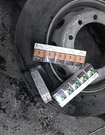 33 600 къса контрабандни цигари на Капитан Андреево