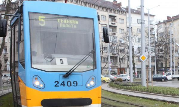 През пролетта: Спират трамвай №5, започват ремонт