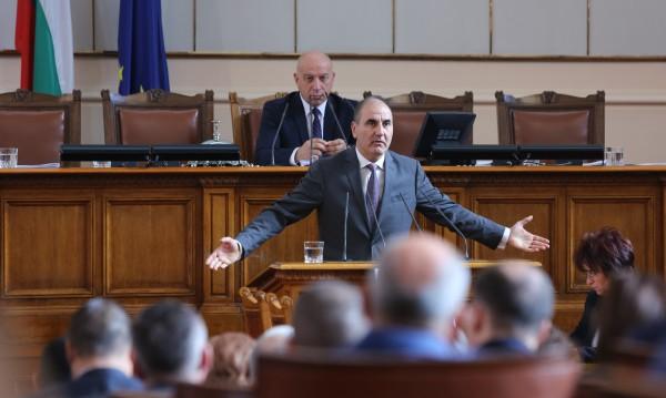 Цветанов с призив за Русе: Да не създаваме разделение!